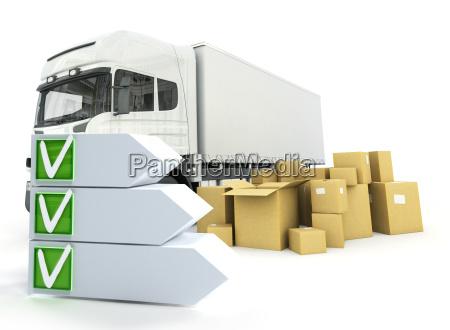 truck delivery checklist