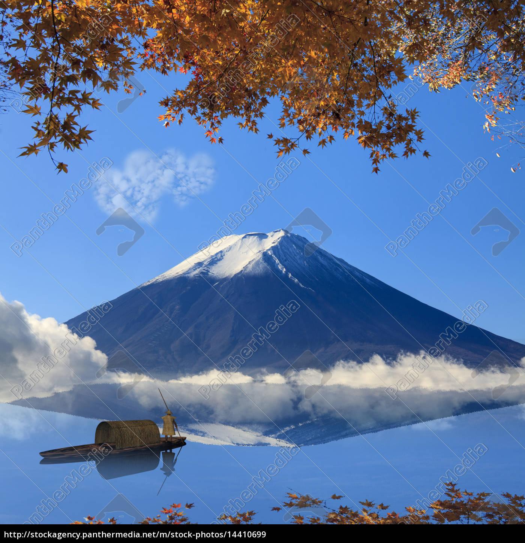 bild, des, heiligen, berges, von, fuji - 14410699