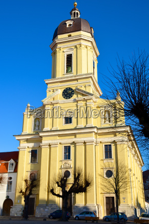 hofkirche in neuburg an der donau