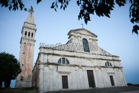saint euphemia basilica at sunset