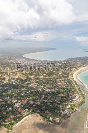 aerial view of dar es salaam