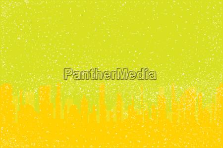 gelbe stadt grunge
