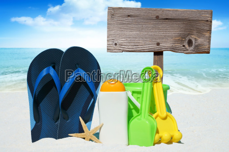 flip flops sunmilk toys and empty