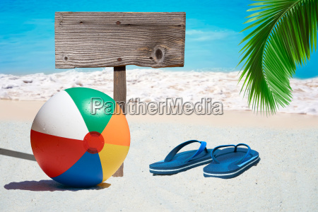 colorful water polo flip flops and
