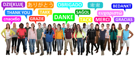multicultural people group young people say