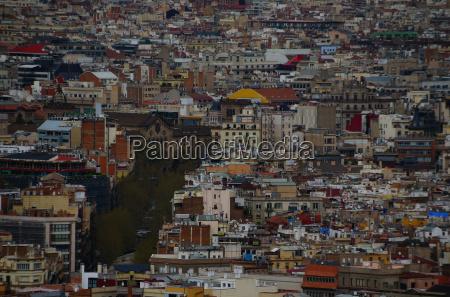 barcelona stadt detail