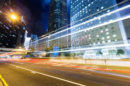 besetzt verkehr in hong kong bei
