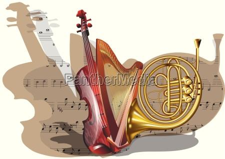 instrumente des orchesters