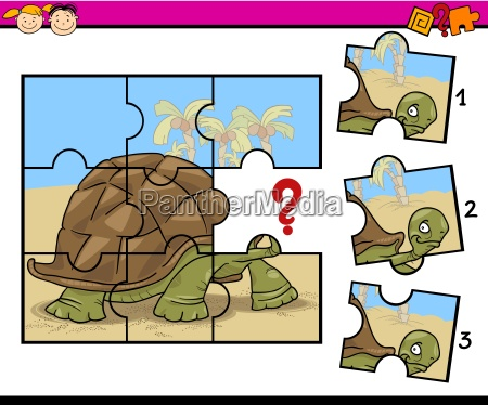 jigsaw puzzle cartoon game