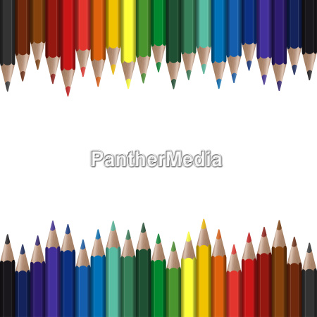 colored pencils seamless