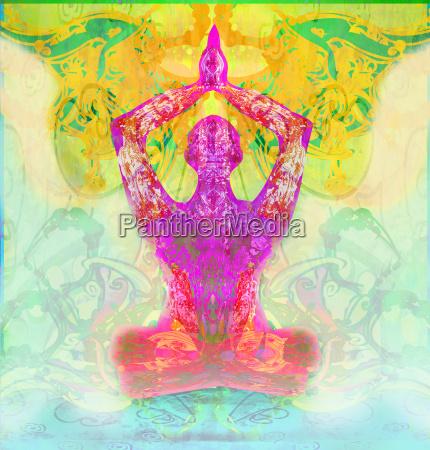 maenner im meditationsmeditation