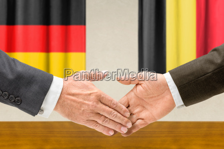representatives of germany and belgium join