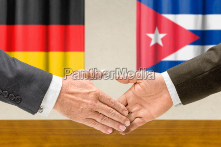representatives of germany and cuba join