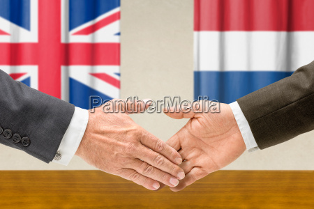 representatives of britain and the netherlands