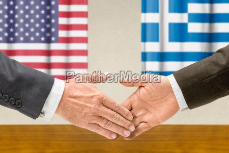 representatives of the us and greece