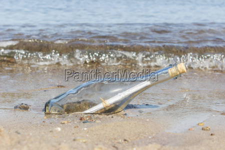 message in a bottle in the
