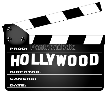 hollywood clapperboard