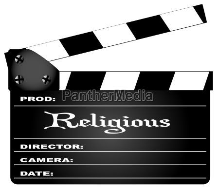 religioese clapperboard
