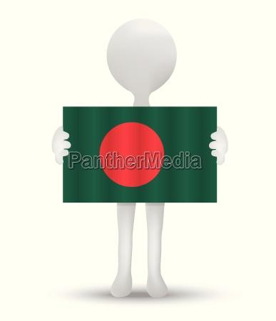 flagge der volksrepublik bangladesch