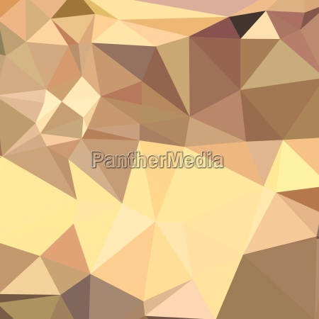 flavescent yellow abstract low polygon background