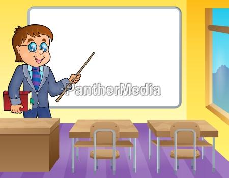 man teacher theme image 4