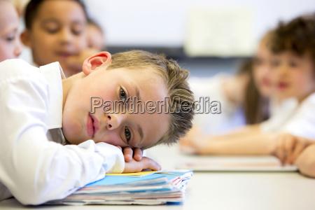 in der schule struggling