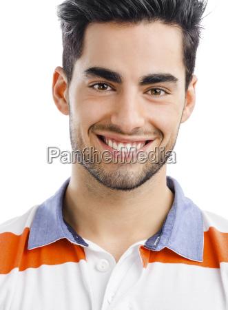 gut aussehender junger mann