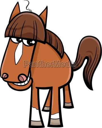 pferd vieh cartoon