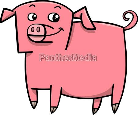 schwein vieh cartoon