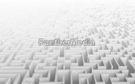 hohe qualitaet abbildung eines grossen labyrinth