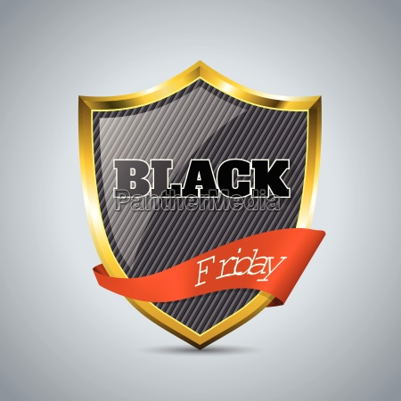 schwarzer freitag abzeichen mit band