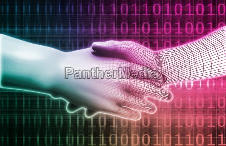 digitale handshake