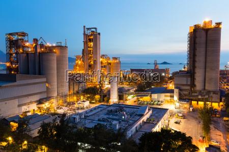 turm stein industrie industriell maschinerie nacht