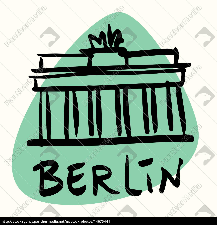 berlin, die, hauptstadt, von, deutschland - 14675441