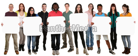 group of young people holding people