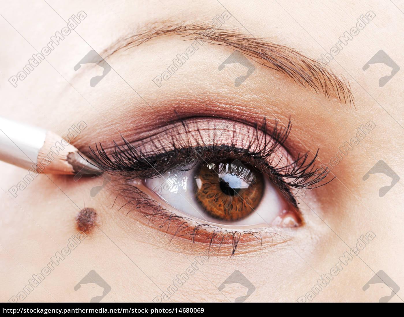 augen-make-up, augen-make-up, augen-make-up, applikation, eye-make-up, applikation, eye-make-up, applikation, von, augen-make-up, applikation, von - 14680069