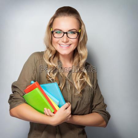 happy student portrait
