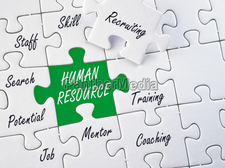 human resource business concept