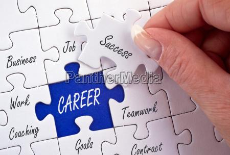 karriere business konzept