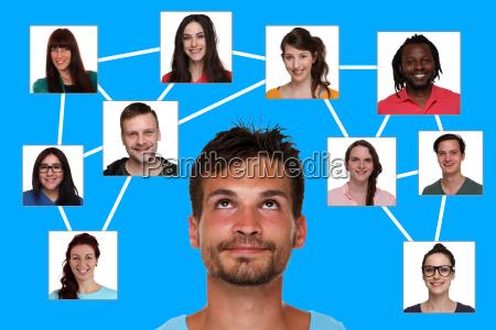 beziehungen freunde und kontakte im soziales
