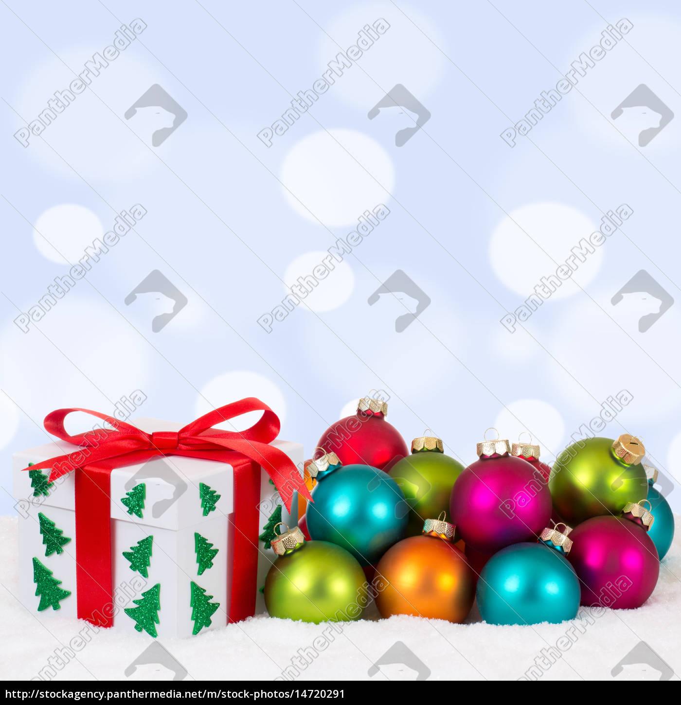 Weihnachtsgeschenk Weihnachten.Lizenzfreies Bild 14720291 Weihnachtsgeschenk Geschenk An Weihnachten Mit Bunte
