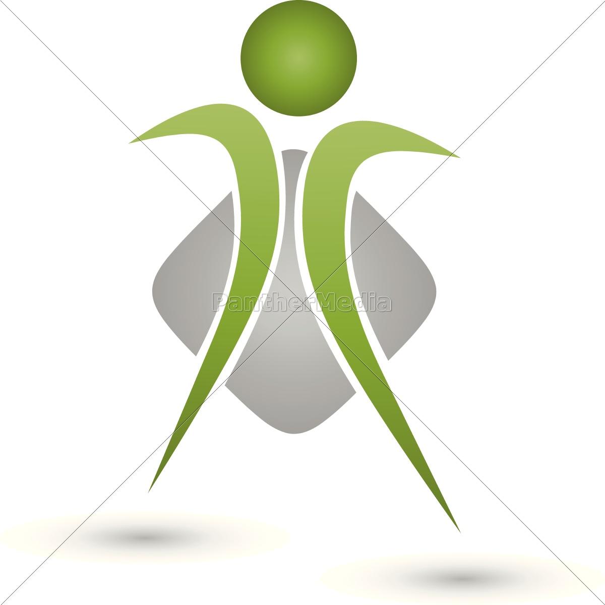 Mensch Person Logo Sicherheit Stockfoto 14721897