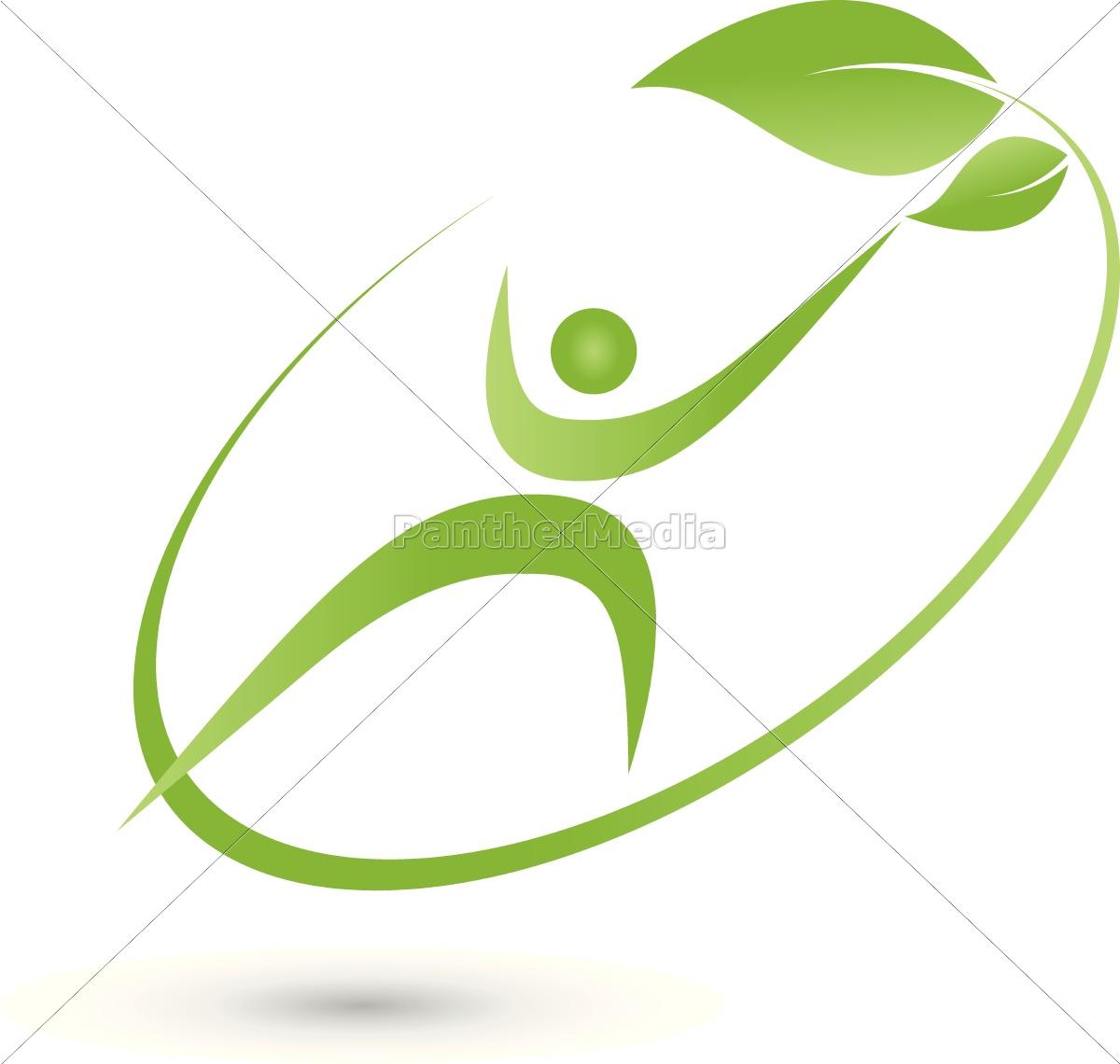 Mensch Person In Bewegung Logo Lizenzfreies Bild 14721919