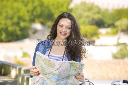 beautiful tourist