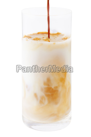 coffee exempted with frosted glass
