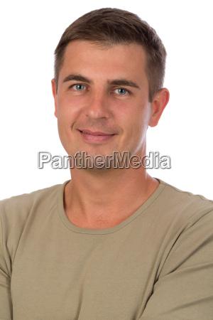 portrait einer attraktiven 37 jaehrige mann