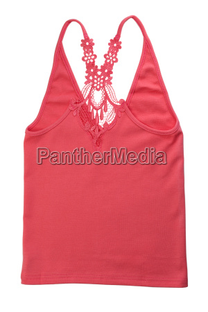red cotton damen t shirt