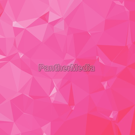 persian rose pink abstract low polygon