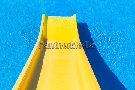 swim pool slide