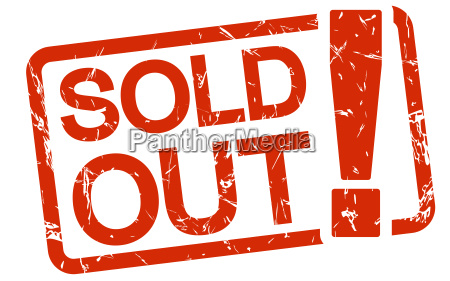 red stamp sold out
